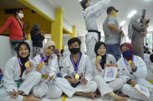 Mahasiswa ITERA Raih Lima Medali Emas di Ajang Begawi Taekwondo Lampung 2020