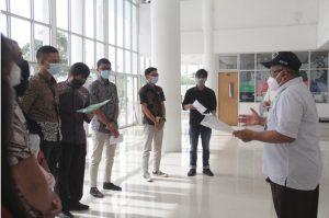 Perkuliahan Hybrid Rektor ITERA siapkan dan Tinjau Gedung Kuliah Hingga Laboratorium