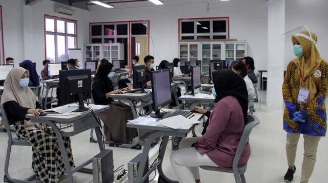 Pusat UTBK ITERA Siapkan 730 Komputer Hingga Prokes Covid-19