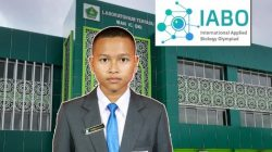 Muhammad Rizqi Aulia, siswa Madrasah Aliyah Negeri (MAN) Insan Cendekia (IC) Kabupaten Ogan Komering Ilir (OKI)