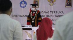 Itera Kukuhkan 4.674 Mahasiswa Baru Secara Daring