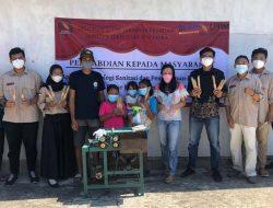 PSTP Itera Aplikasikan Sanitasi dan Kemasan UMKM Tusuk Bakso di Lampung Timur