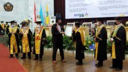 Kukuhkan 15 Guru Besar, Unila Pecahkan Rekor MURI