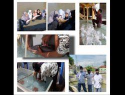 Agribisnis Air Tawar, Siswa MA Al Hikmah 2 Brebes Panen Ratusan Ribu Larva Ikan